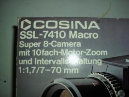 Foto 5 Videokamera Super 8 Cosina SSL 7410 Macro ca. 1971