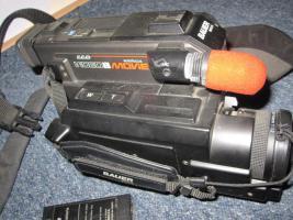 Foto 2 Videokamera, Bauer, Kamera