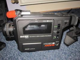 Foto 3 Videokamera, Bauer, Kamera