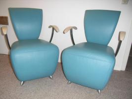 Foto 3 Vier Designerstühle der Marke Dauphin Modell Bobo