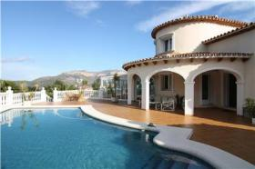 Villa in Denia an der Costa Blanca