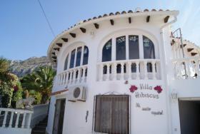 Villa mit Pool in Denia an der Costa Blanca