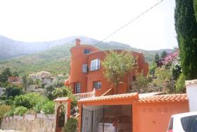Villa mit atemberaubender Aussicht in Denia an der Costa Blanca