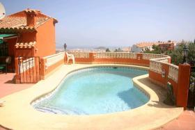 Foto 2 Villa mit atemberaubender Aussicht in Denia an der Costa Blanca