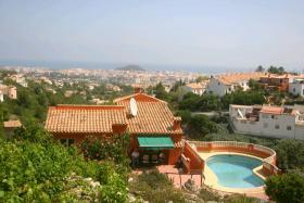 Foto 3 Villa mit atemberaubender Aussicht in Denia an der Costa Blanca