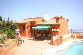Foto 4 Villa mit atemberaubender Aussicht in Denia an der Costa Blanca