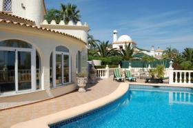Villa mit beeindruckende Aussicht in Denia an der Costa Blanca