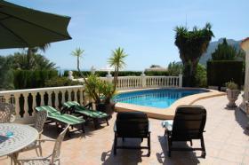 Foto 2 Villa mit beeindruckende Aussicht in Denia an der Costa Blanca