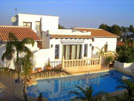 Villa mit traditionellem Ambiente in Javea an der Costa Blanca