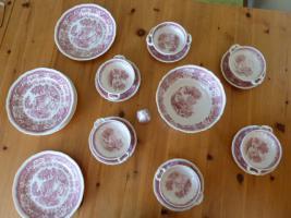 Villeroy & Boch Burgenland rot Essservice, Kaffeekanne, Teekanne