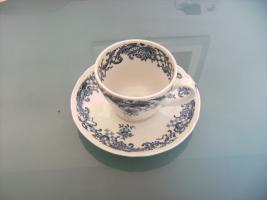 Villeroy & Boch Valeria Blau, Kaffeetassen mit Untere