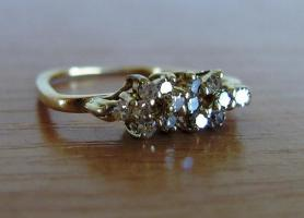 Vintage Diamant Ring