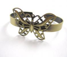 Vintage Schmetterling Armreif