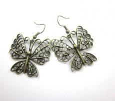 Vintage Schmetterling Ohrringe