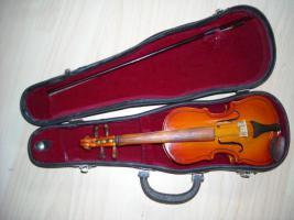 Violine ~23 cm mit Koffer - nicht spielbar