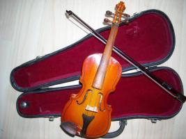 Foto 2 Violine ~23 cm mit Koffer - nicht spielbar