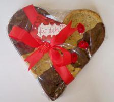 Vital Herz Cookie 24x24 cm Top im Geschmack!