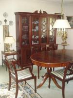 Vitrinenschrank Englisch-Möbel Mahagoni