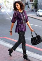 Vivien Caron - Jeans mit Reißverschluss schwarz Gr. 40 - OVP