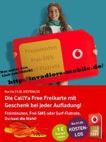 Vodafone Prepaid Karte mit Startguthaben, kostenlos!!