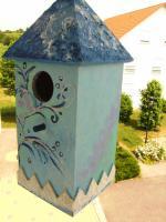 Vogelhaus oder Spardose