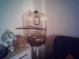 Foto 3 Vogelkäfig mit Standfuss