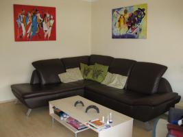 Voll-Leder Braun Element Sofa + Schlafmöglichkeit NP 2035€ 3J. Rechnung vorhanden