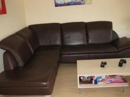 Foto 2 Voll-Leder Braun Element Sofa + Schlafmöglichkeit NP 2035€ 3J. Rechnung vorhanden