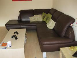 Foto 3 Voll-Leder Braun Element Sofa + Schlafm�glichkeit NP 2035� 3J. Rechnung vorhanden