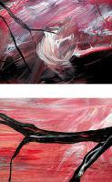 Foto 3 WANDGEMÄLDE ''HERBSTFEUER'' UNIKAT von stiller-art