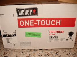 WEBER Kugelgrill One-Touch ''PREMIUM'' 57cm - Modell 2011/2012 - NEU & OVP - Grill OTP Weber-Nr:135104