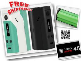 WISMEC Reuleaux RX200 TC 200W Box Mod � 45 versandkostenfrei e-zigarette