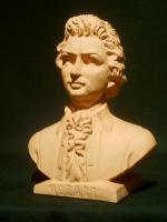 W.A. Mozartbüste massiv ''neu''