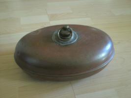 Wärmflasche aus Kupfer-aus Omas Zeiten!