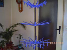 Wäschespinne für innen und Balkon