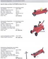 Wagenheber Hobby & Profi PRO LIFT & T-rote Linie 2011-12