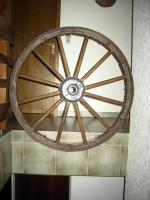 Wagenräder aus Holz