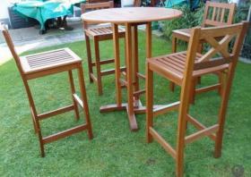 Foto 2 Wahlweise 2x komplette Gatenmöbelset- Massiver Holz