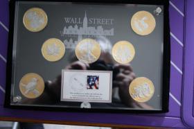 Foto 2 Wallstreet Investment 2010 - Silber / Gold / Platin - 7 Münzen je 1 Unze