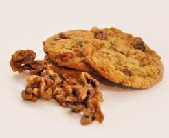 Walnuss - Ahornsirup Cookies mmm.