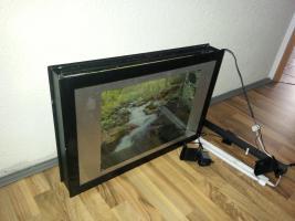 Foto 2 Wandaquarium/ Nanobecken für Garnelen mit Beleuchtung