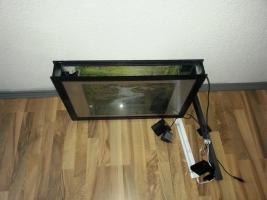 Foto 3 Wandaquarium/ Nanobecken für Garnelen mit Beleuchtung