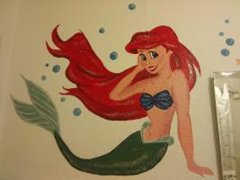 Wandbilder selbst gemalt