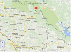 Karte - Philippsreut und Umgebung