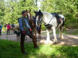 Foto 12 Wanderreiten für Erwachsene, Entschleunigen in Todtmoos Au, Pferdetrekking, Reitferien