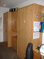 Foto 2 Wandklappbett mit Anbaumöbeln
