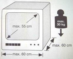 Foto 3 Wandkonsole für TV oder PC-Monitor