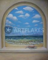 Foto 3 Wandmalerei, Wandgestaltung, Illusionsmalerei.