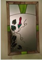 Wandspiegel im Tiffanystil