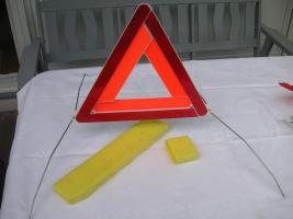 Warndreieck, nie gebraucht, in Kunstoffbox, Preis: 5 EUR